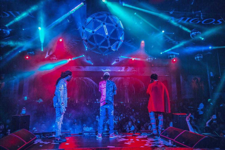 Migos live - Drais Nightclub - danny lush